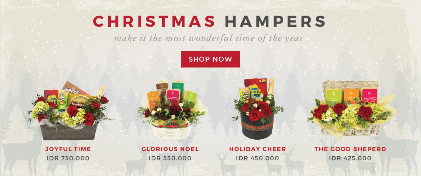 Chrismas Hampers Banner 2018