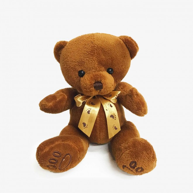 """Bear Guliver 9"""" Brown"""