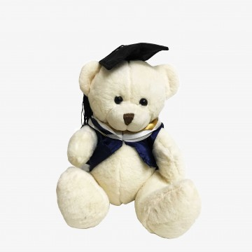 "BEAR GRADUATION 7"" WHITE"