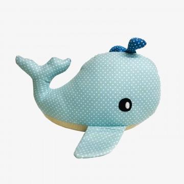 """Whale 7"""" Blue"""